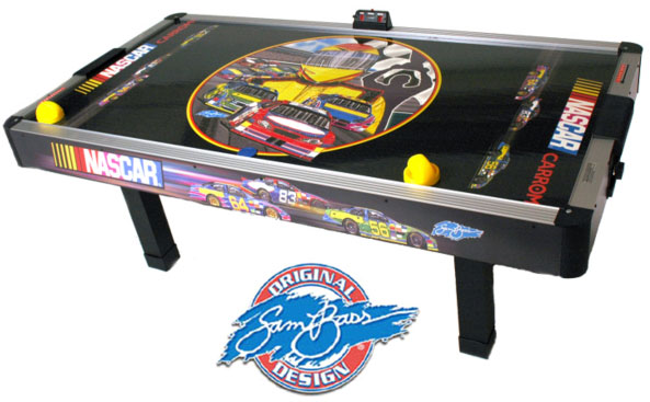 Nascar Air Hockey Table