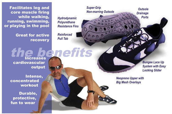 Aquatic Training Shoe Benefits