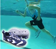 Aquatic training shoes