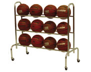 Spalding and Gared Basketball Racks