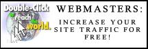 Webmasters increase your site traffic for free!