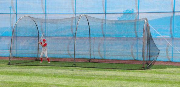 heater backyard batting cage