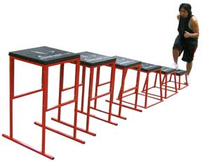 plyobox plyometric jump box set