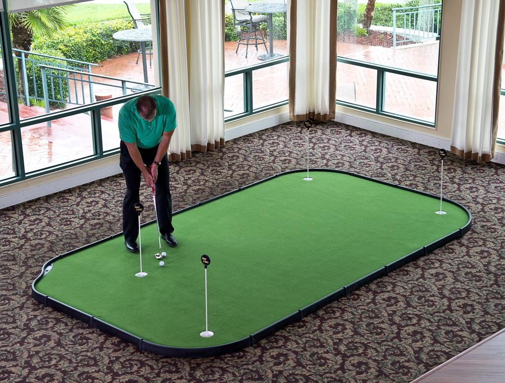 8' X 14' Tourlinks Backyard Home Golf Putting Green ...