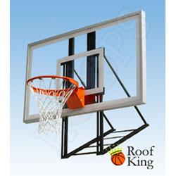 Delightful Roof King Platinum Acrylic Roof Mounted Basketball Backboard