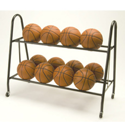 Tandem Sport Ultimate Ball Storage Rack Rolling Cart