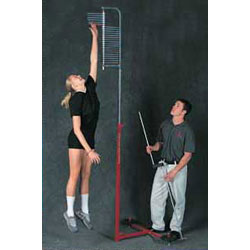 Vertec vertical jump training measurement equipment edmonton