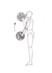medicine ball exercise