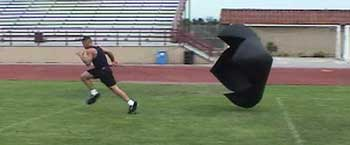 Running Speed Parachutes