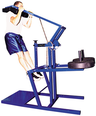 SuperCAT vertical jumping machine