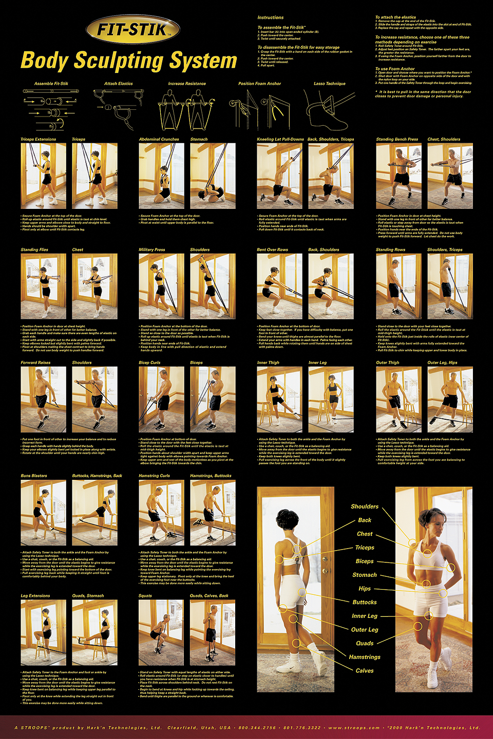 Pilates ball exercises information on happy healthy news - Free Dumbbell Workout Poster Information On Happy Healthy News