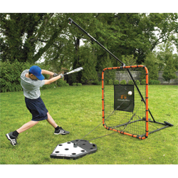 Goalrilla Spring Trainer Portable Hitting And Fielding Screen
